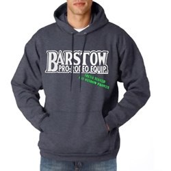 "Barstow ""Arena Tested, Pay Window Proven Hoodie"" in Charcoal"