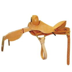 G Bar G Gold Bronc Saddle