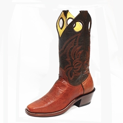 Barstow YOUTH Arena Collection Riding Boots - Mango/Coffee