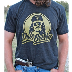 Dale Brisby - Gold Logo T