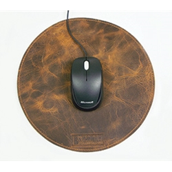 Barstow Leather Mouse Pad