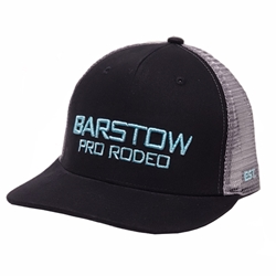 Barstow Curved Bill Trucker Cap - Black/Charcoal/Turquoise