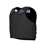 Phoenix Pro Max Black Leather Vest - YOUTH