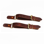 Junior Leather Spur Straps