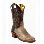 Barstow Arena Collection Riding Boots - Distressed Taupe/Moody Brown
