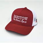 Curved Bill Trucker Cap  - Cardinal