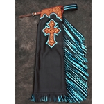 Ty Skiver Tooled Chaps  - # 6